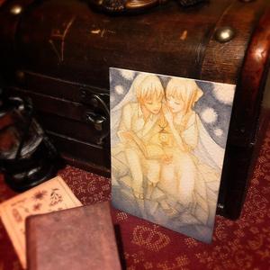 【創作】ATC原画 (童話展)