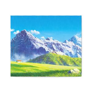 高原の名峰 キャンバスアート