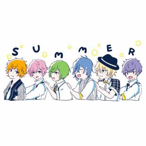 A3!ステッカー 夏組