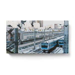 京浜東北線(雪の車庫)モバイルバッテリー