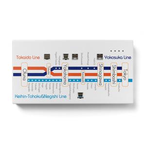 【路線図シリーズ:大船組】モバイルバッテリー