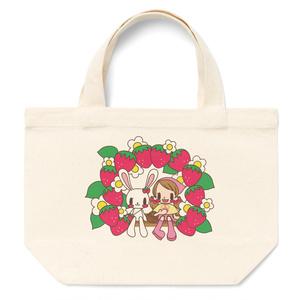 いちごみるく&ホイップ トートバッグS/M