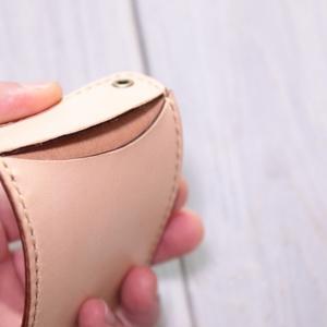 【素体商品】国産ヌメ革・手縫いパスケース