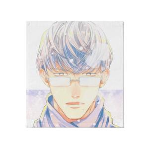 『冬眼鏡男子』ハンドタオル