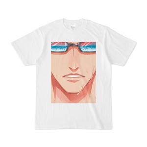 『夏眼鏡男子』白Tシャツ(B)