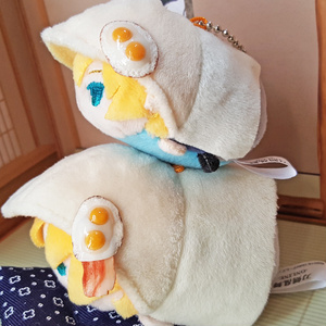 【アクセサリー】目玉焼き・ベーコンエッグ(マグネットタイプ)