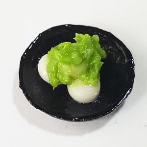 ずんだ餅(ずんだもち)【1/6スケール ミニチュアフード】