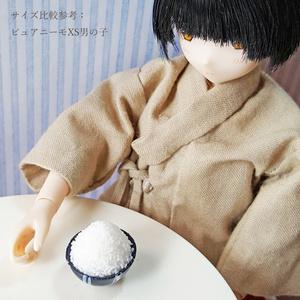 山盛りご飯(白米)【1/6スケール ミニチュアフード】