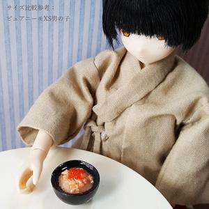 イクラと鮭の出汁茶漬け【1/6スケール ミニチュアフード】