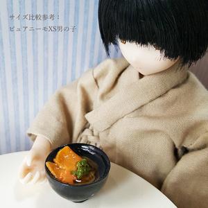 きつねうどん【1/6スケール ミニチュアフード】
