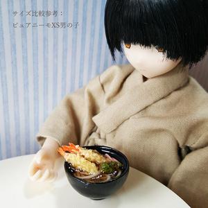 えび天うどん【1/6スケール ミニチュアフード】