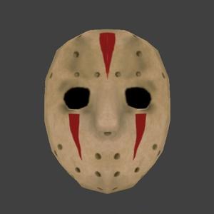 ホラーな雰囲気のホッケーマスク