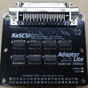 RaSCSI Adapter Lite ExternalEdition (アンフェノール)