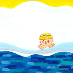 「うみボウズ」/ポストカード