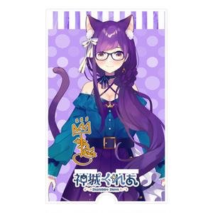 👑神城くれあ新衣装公開記念✨アクリルスマホスタンド(紫)サイン入り