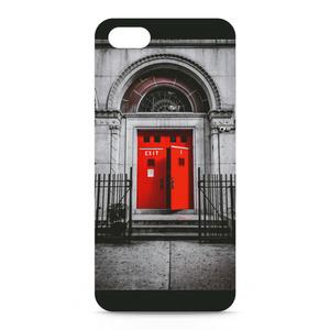 iPhoneケース 背面タイプ Ash Lynx Door
