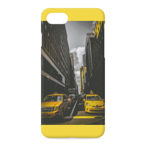 iPhoneケース 背面タイプ BF Taxi ver.2 Yellow