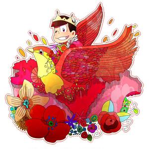 童話×六子アクリルキーホルダー おそ松(おやゆび姫)