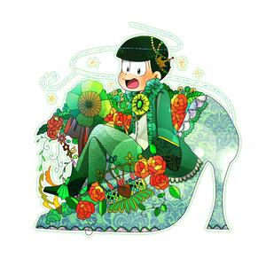 童話×六子アクリルキーホルダー チョロ松(シンデレラ)