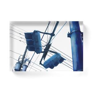 空色電信柱