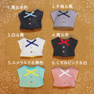 ぬい服◆リボンシャツ