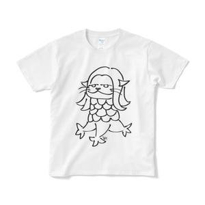 カワウソチャンTシャツ カワビエ(白)