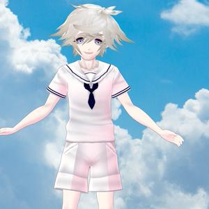 【VRoid】男性セーラー服【無償版・有償版有り】