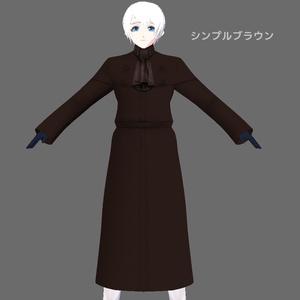 【VRoid】天谷コート【インバネスコート】