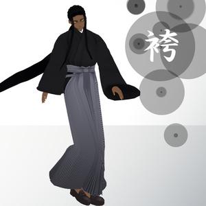 【VRoid】袴【無料テクスチャ】