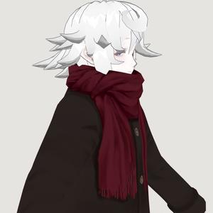 【VRoid】シンプルストールコート【男女両用】