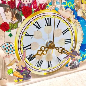 時計の国のアリス アクリルクロック