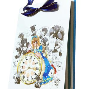 時計の国のアリス ペーパーバッグ