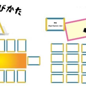 ボードゲーム汎用お題カード モチーフ編