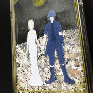 グリッターiPhoneケース -Noctis&Luna-
