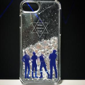 グリッターiPhoneケース -WISH UPON A STAR-
