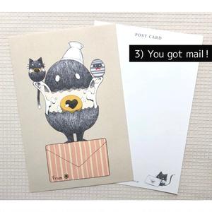 ポストカード【タマゴノマモノ】