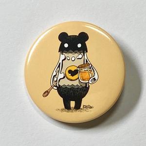【缶バッジ/44mm】Bear