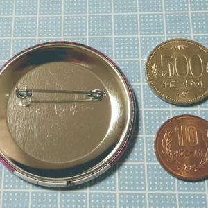 57mmキャラ缶バッジ