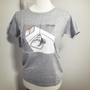 ネムレナイネコ Tシャツ(レディース)