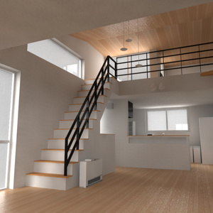 2階建て住宅(ロフト付き)