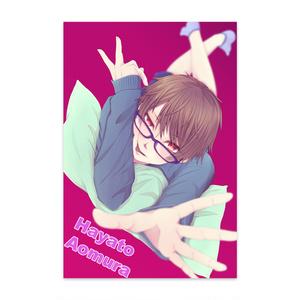 創作眼鏡男子 蒼村勇人(はーくん)ポスカ