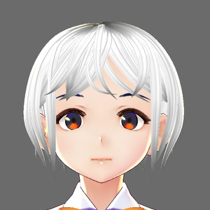 【VRoid髪型】コンパクトなショートヘア