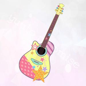 ギター型アクリルキーホルダー(トイカケver)