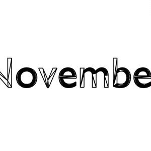 November Tシャツ