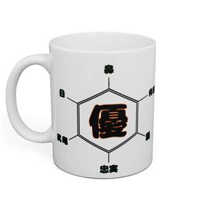 犬の構造式 マグカップ