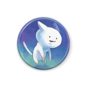 猫背の白ねこ