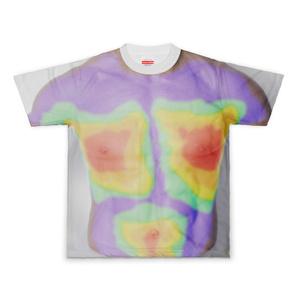 TシャツのヒートマップTシャツ