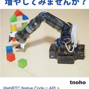 WebRTCをブラウザ外で使ってブラウザでできることを増やしてみませんか?(電子版)