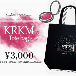 KRKM-Tote Bag-
