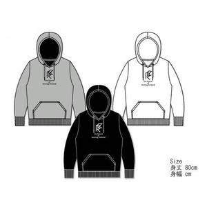 【SOLDOUT】ビッグパーカー/センターロゴプリント